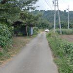 物件の前面道路(立会済)