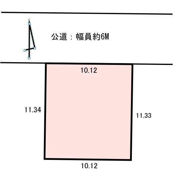 長野市稲田1丁目 売り土地