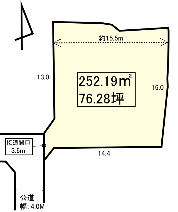 長野市三輪10丁目 売り土地